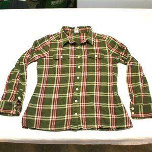 Patagonia Fjord Flannel Shirt Plaid Organic small